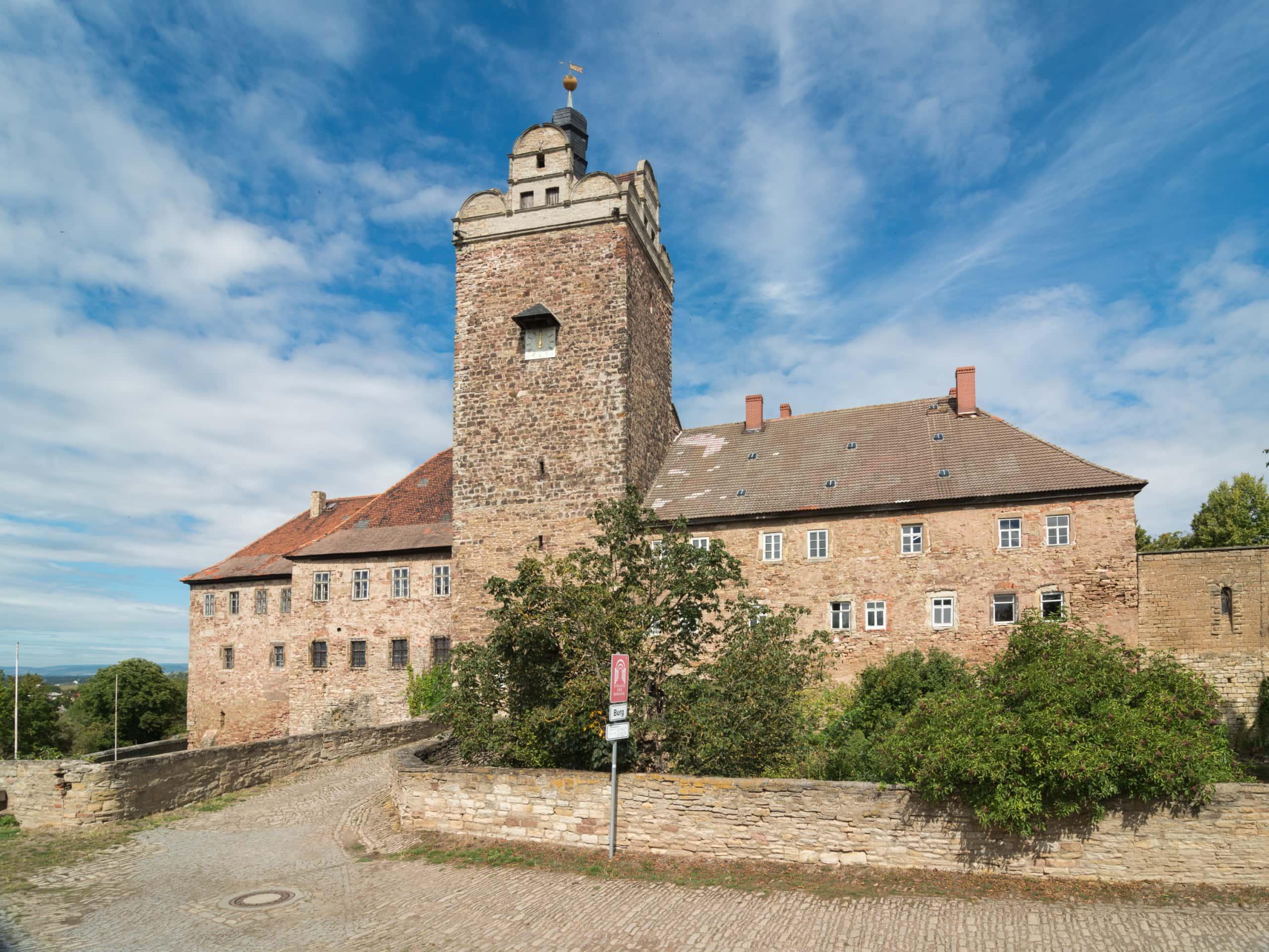 Industriekultur – Schloss und Burg Allstedt