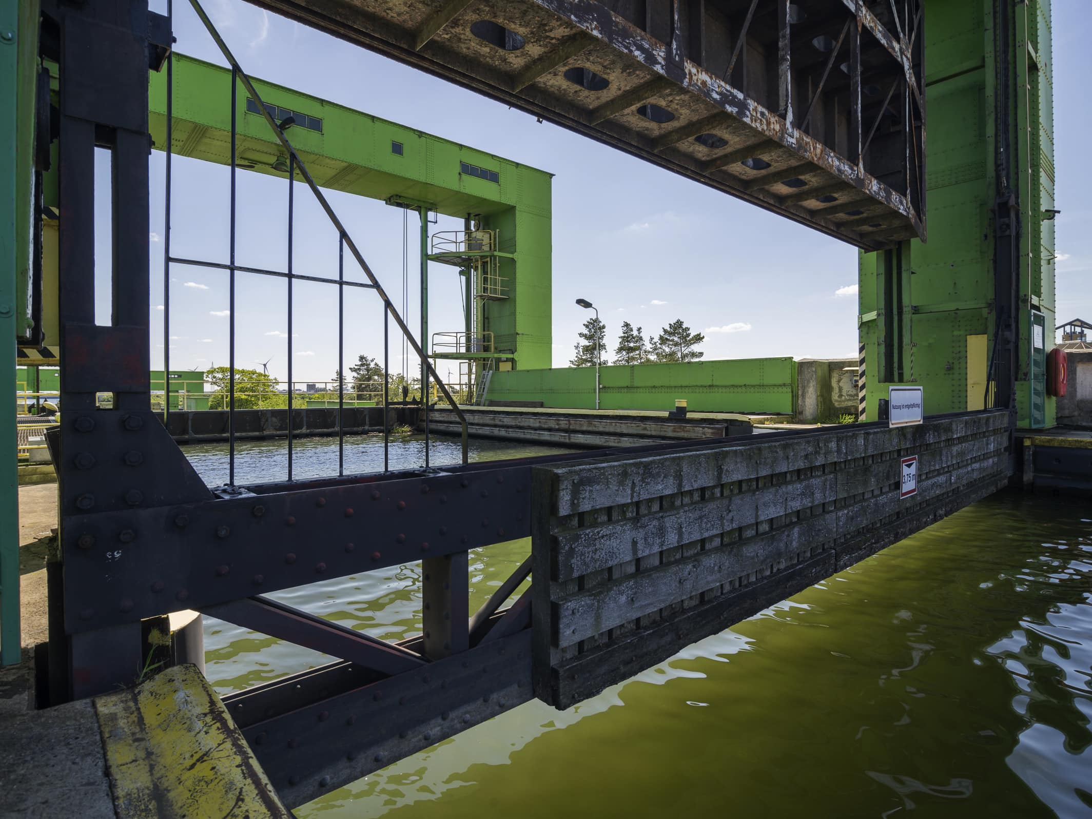 Industriekultur – Schiffshebewerk Magdeburg-Rothensee