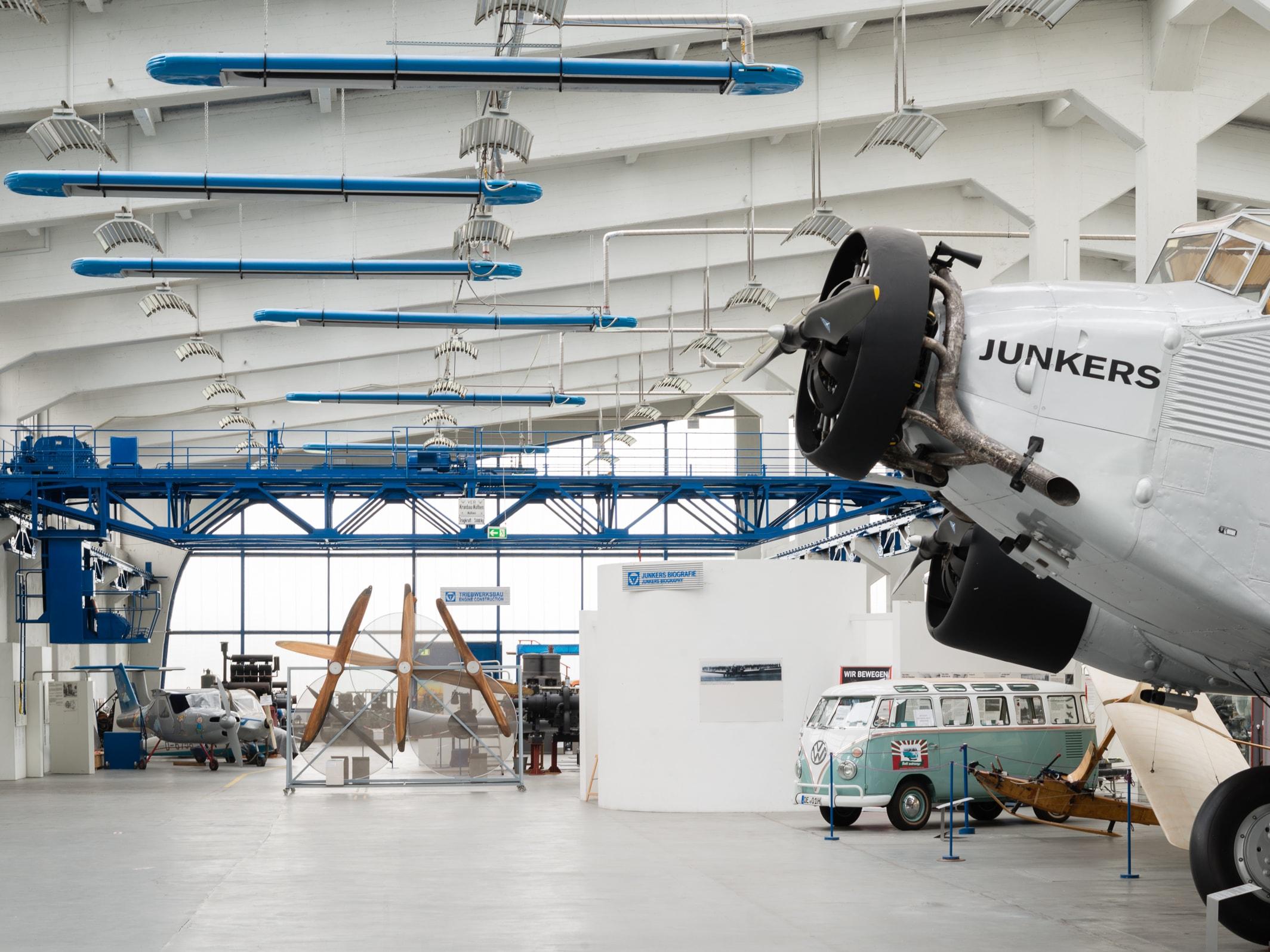 Industriekultur – Technikmuseum «Hugo Junkers»