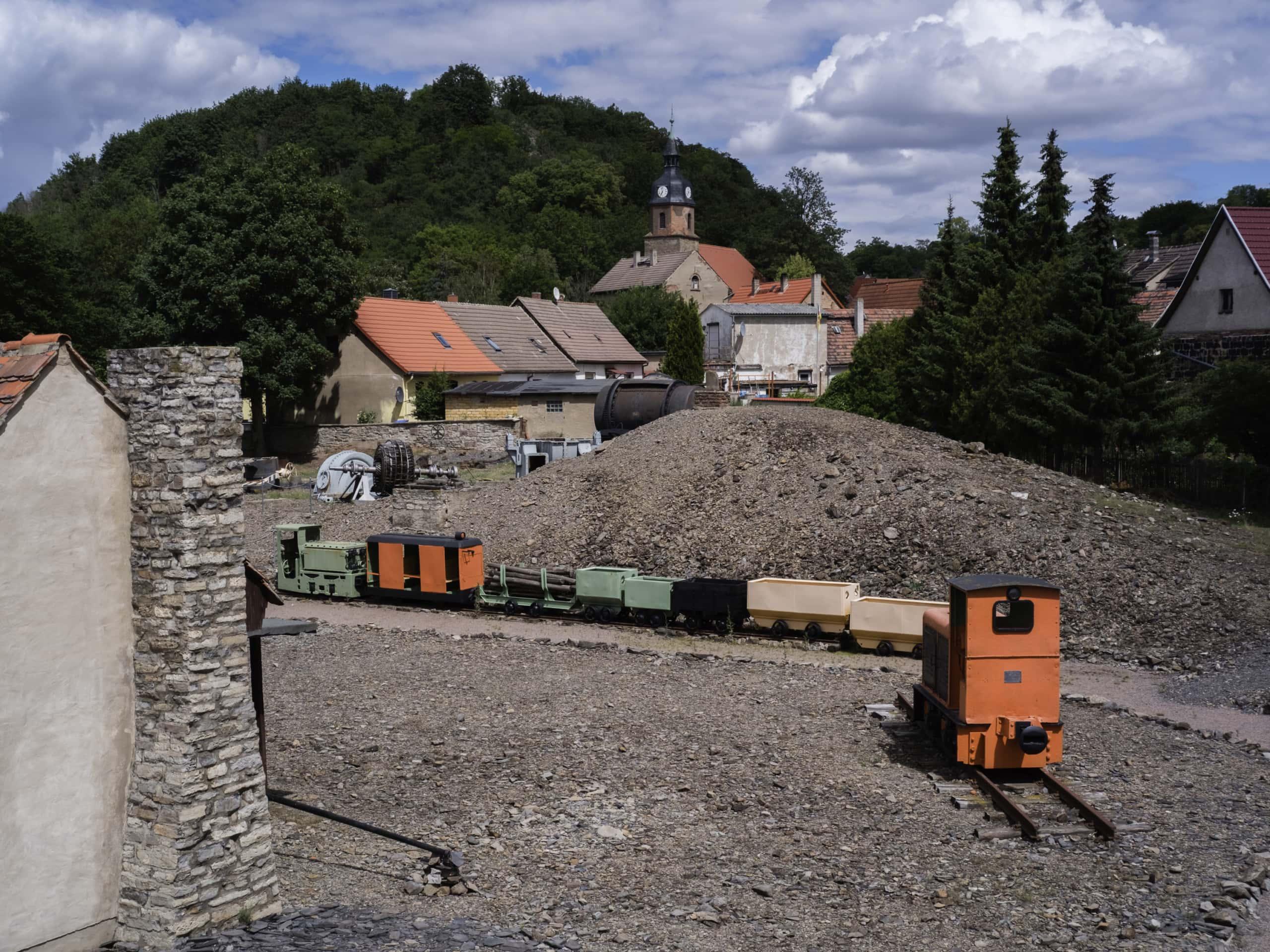 Industriekultur – Humboldt-Schloß Hettstedt