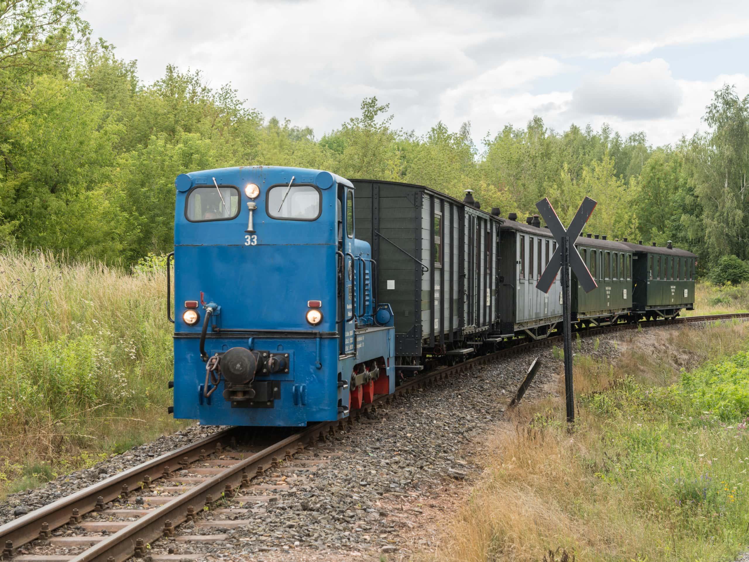 Industriekultur – Mansfelder Bergwerksbahn